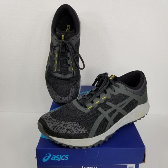 Asics Shoes   Alpine Xt Blackdark Grey
